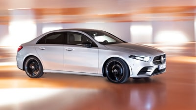 New Mercedes-Benz A-class sedan revealed