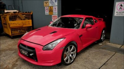 Team Donut King Preparing Second R35 GT-R