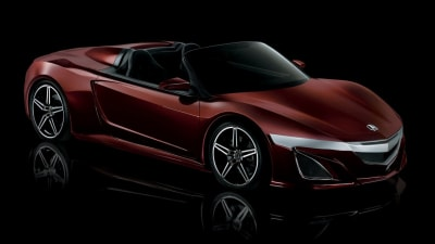 Acura NSX Roadster The True Star Of New Avengers Film