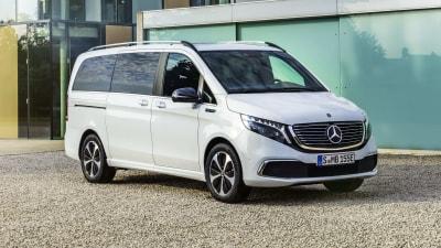 2020 Mercedes-Benz EQV unveiled