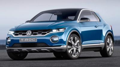 Volkswagen T-Roc Concept Revealed: Targa Crossover Debuts In Geneva
