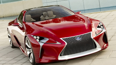 Lexus Luxury Coupe To Accompany LS As New Flagship Model?