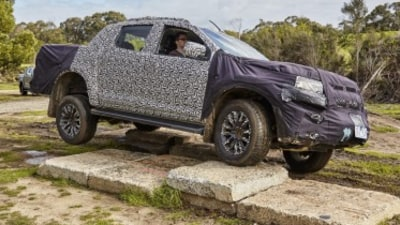 2017 Holden Colorado prototype review