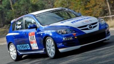 Mazda 3 MPS Takes All Comers at Targa Tasmania