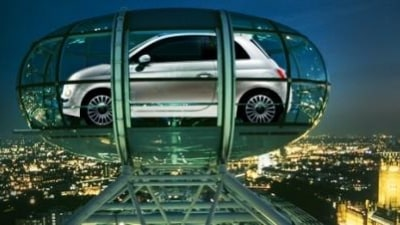 All eyes on the Fiat 500 at its UK launch