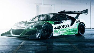 Pikes Peak - Honda NSX EV Unveiled For 2016 Event