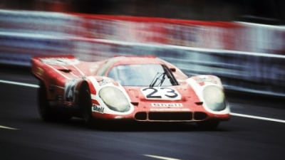 Porsche 917 Race Car Celebrates 40th Birthday