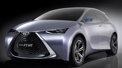 Toyota Reveals New Green Concepts At Shanghai Auto Show