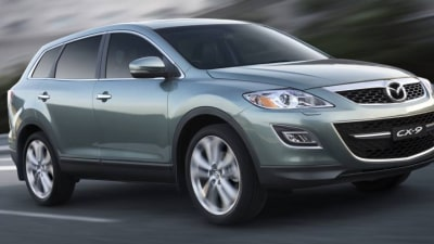 2011 Mazda CX-9 Gets Improved Fuel Economy, New Wheel Choices