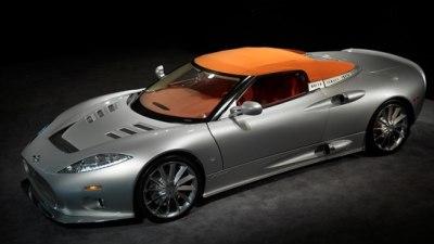 2010 Spyker C8 Aileron Spyder Debuts At Pebble Beach Concours d'Elegance