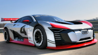 Audi's virtual racer comes to life