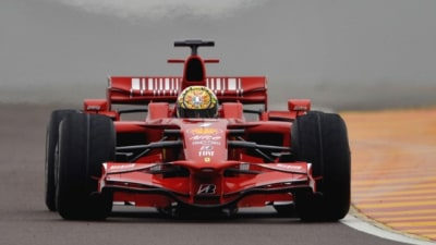 F1: Rossi Completes Day One Of Ferrari Test