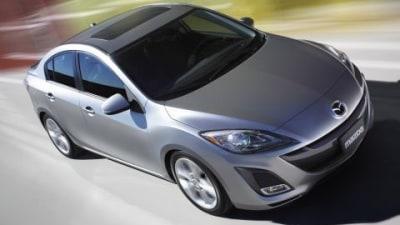 2010 Mazda3 Sedan Official Unveiling