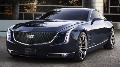 Cadillac Elmiraj Coupe Concept Cruises Into Pebble Beach: Video