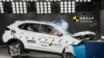 ANCAP 4 Star Rating For MG GS SUV