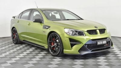 Prototype HSV GTSR W1 to be auctioned, $500,000 expected