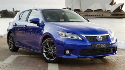 Lexus CT 200h Australian Pricing Announced
