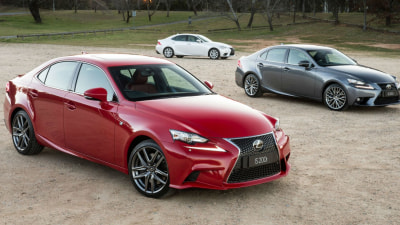 Lexus IS200t Headlines Updated 2016 IS Range For Australia
