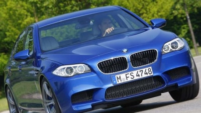 2012 BMW M5 Official Images Surface Ahead Of Frankfurt Unveiling