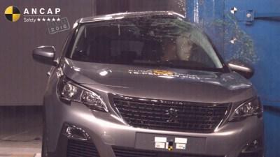 2017 Peugeot 3008 Lands 5-Star ANCAP Safety Rating