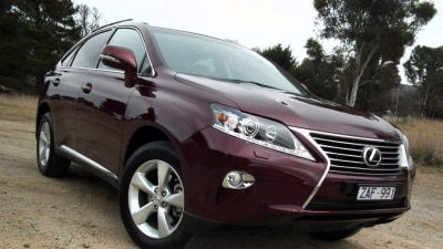 2012 Lexus RX 270 And RX 450h F Sport Launch Review