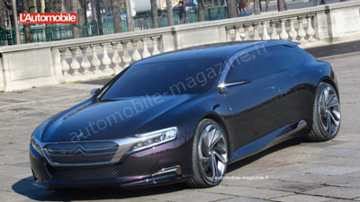 Citroen's Mystery DS Concept Spied And Uncovered