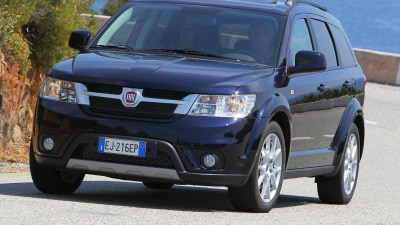 Fiat Freemont On Sale In Australia From $27,000 Drive-away