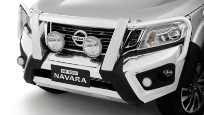 Nissan NP300 Navara Bullbars Score Five-Star ANCAP Safety Rating