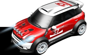 MINI Countryman Entering World Rally Championship In 2011, Built By Prodrive
