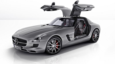 Mercedes-Benz SLS AMG Adds GT Badge For Series 2