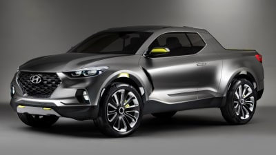 Hyundai Santa Cruz Pickup Concept Revealed In Detroit