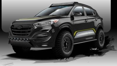 Hyundai Tucson Gets Rugged Off Road Treatment For SEMA