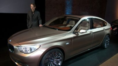 2010 BMW 5 Series Gran Turismo 'Concept' Breaks Cover