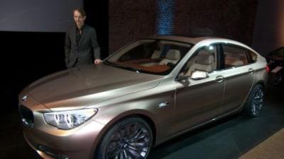 2010 BMW 5 Series Gran Turismo 'Concept' Breaks Cover