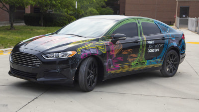 Ford Cuts Bulk With Lightweight Concept