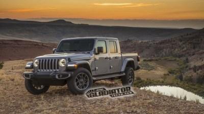 Jeep's Wrangler ute leaks