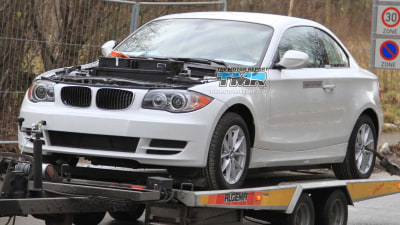 BMW ActiveE Electric Car Spied Testing