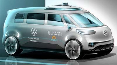 All-electric Volkswagen Kombi will be brand's first autonomous vehicle