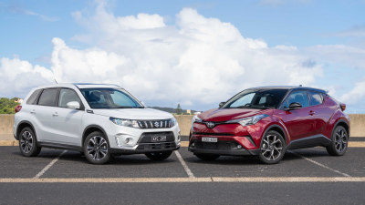 Toyota C-HR v Suzuki Vitara Turbo Head-to-Head