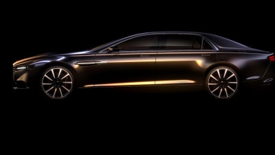 Aston Martin Lagonda Limo Previewed, Limited Production Confirmed