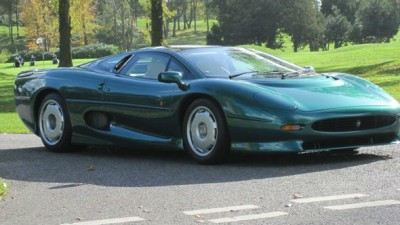 Jaguar XJ220: 6000 Miles On The Clock, Silverstone Auction