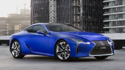 New Limited edition Lexus LC Coupe revealed