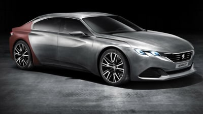 Peugeot Exalt Concept Revealed, New 407 Four-door Coupe Previewed?