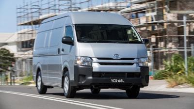 More Fuel-Efficient Diesel Headlines Toyota HiAce Updates