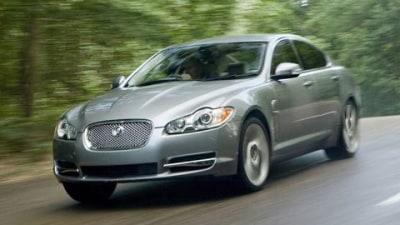 2008 Jaguar XF saloon