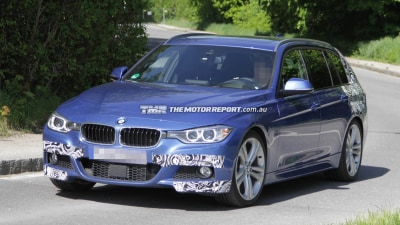 2013 BMW 3 Series Touring Spied Testing With M Sport Kit