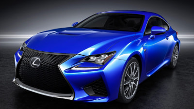 Lexus RCF Revealed, Tech Details Coming In Detroit