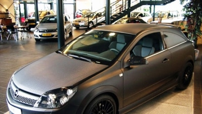 Opel Astra OPC Limited Edition Black
