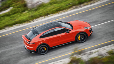 New Porsche Cayenne Coupe revealed