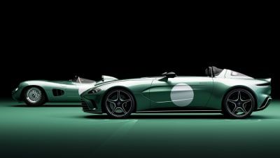 2021 Aston Martin V12 Speedster offers tribute DBR1 colour specification